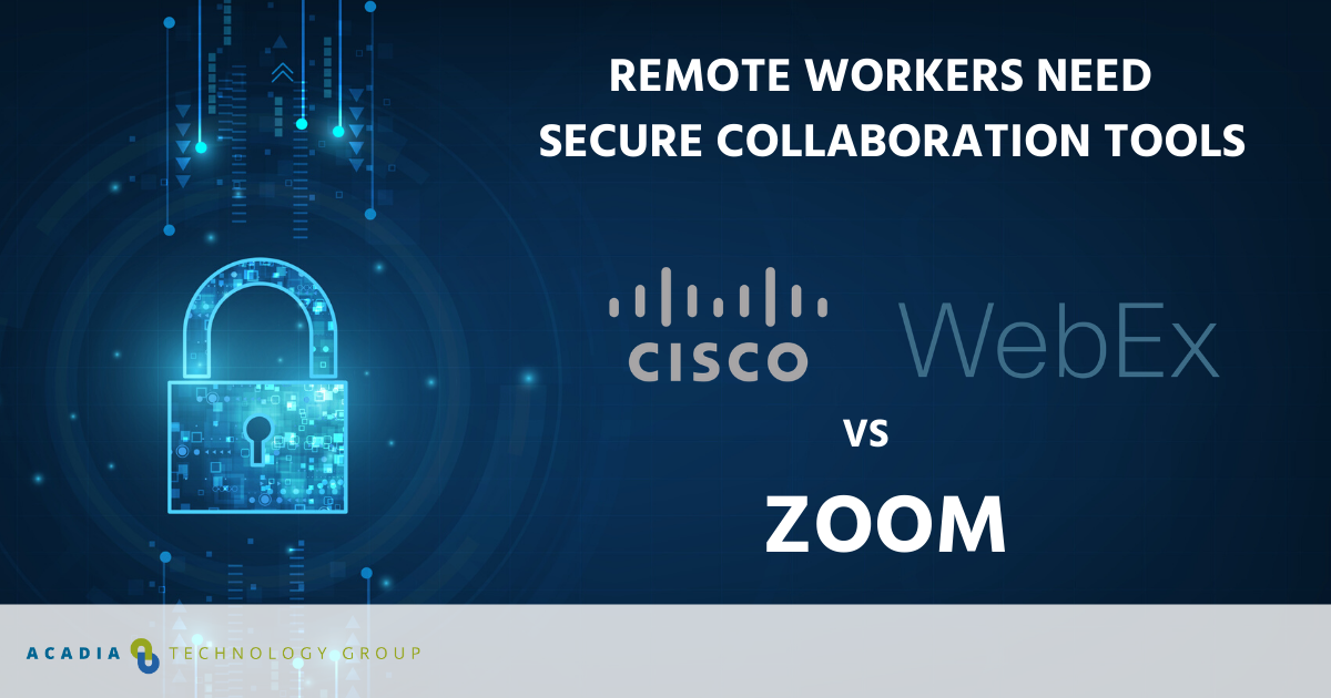 Cisco WebEx vs Zoom